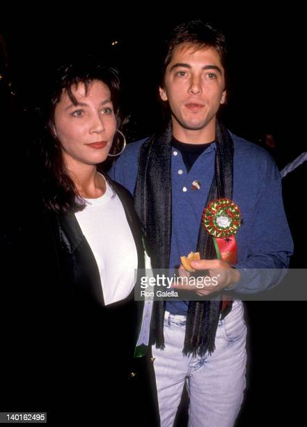 Scott Baio and date at the 1987 Hollywood Christmas Parade Hollywood