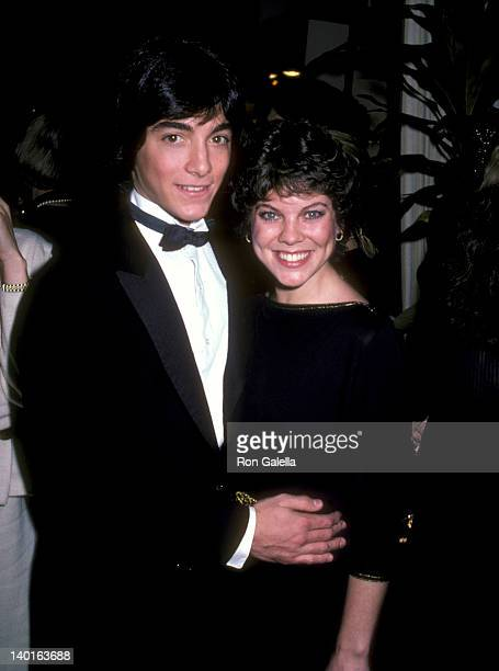 Scott Baio and Erin Moran at the 39th Annual Golden Globe Awards, Beverly Hilton Hotel, Beverly Hills.