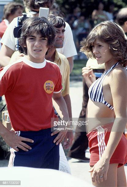 Scott Baio and Kristy McNichol circa 1978 in Los Angeles California