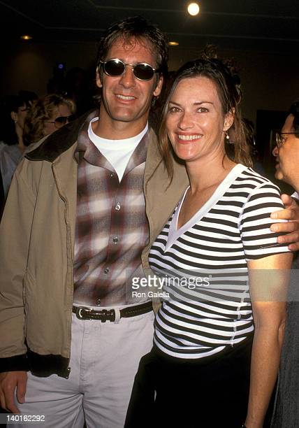 Scott Bakula and Chelsea Field at the Premiere of 'Out to Sea' Mann Bruin Theatre Westwood