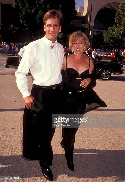 Scott Bakula and Krista Neumann at the 43rd Annual Primetime Emmy Awards Pasadena Civic Auditorium Pasadena