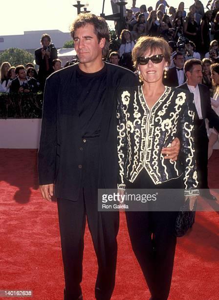 Scott Bakula and Krista Neumann at the 45th Annual Primetime Emmy Awards Pasadena Civic Auditorium Pasadena