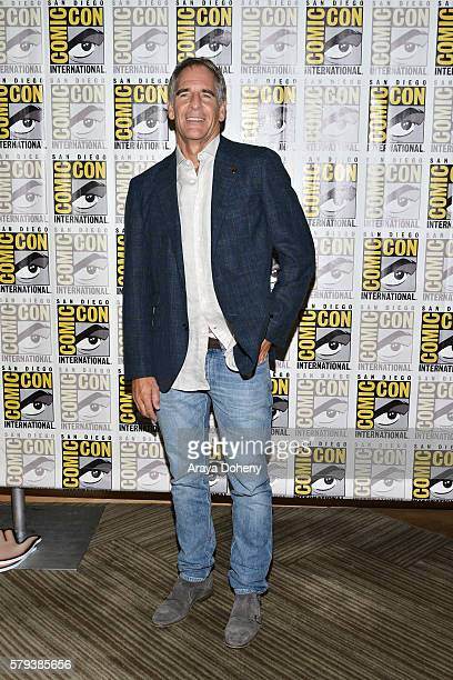 Scott Bakula attends the Star Trek 50 press line at ComicCon International 2016 Day 3 on July 23 2016 in San Diego California