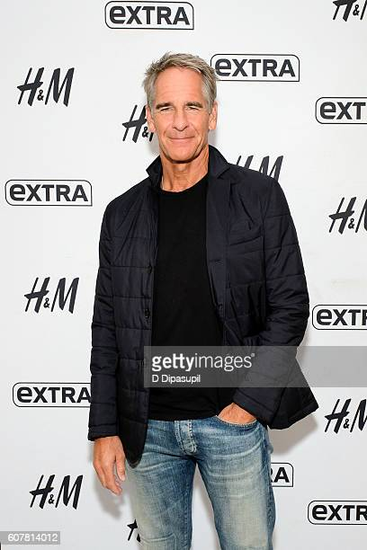 Scott Bakula visits 'Extra' at their New York studios at HM in Times Square on September 19 2016 in New York City