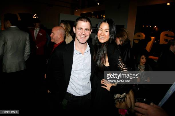 Scott Benaglio and Yilin Hsu attend 7th Annual BoCONCEPT/KOLDESIGN Holiday Party at Bo Concept Madison Ave on December 15 2009 in New York