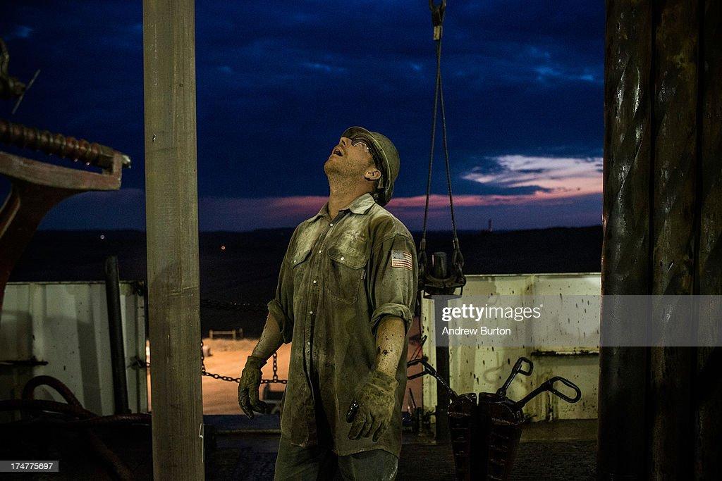 Oil Boom Shifts The Landscape Of Rural North Dakota : News Photo