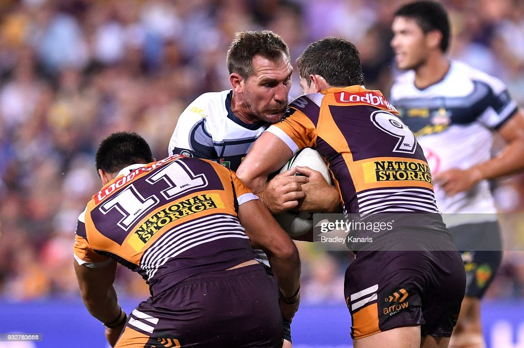 NRL Rd 2 - Broncos v Cowboys : News Photo
