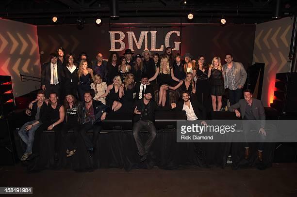 Scott Borchetta and the aritsts of The Big Machine Label Group attend the Big Machine Label Group Celebrates The 48th Annual CMA Awards in Nashville...