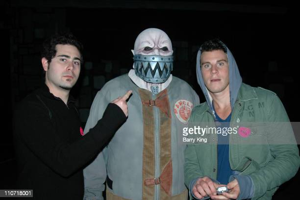 Scott Brandon and Greg Siff in The Asylum Maze at Knott's Scary Farm's Halloween Haunt