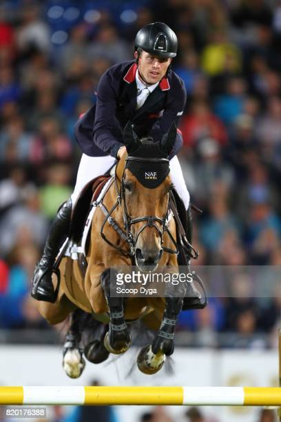 Scott BRASH riding URSULA XII during the Prize of North RhineWestphalia of the World Equestrian Festival on July 21 2017 in Aachen Germany