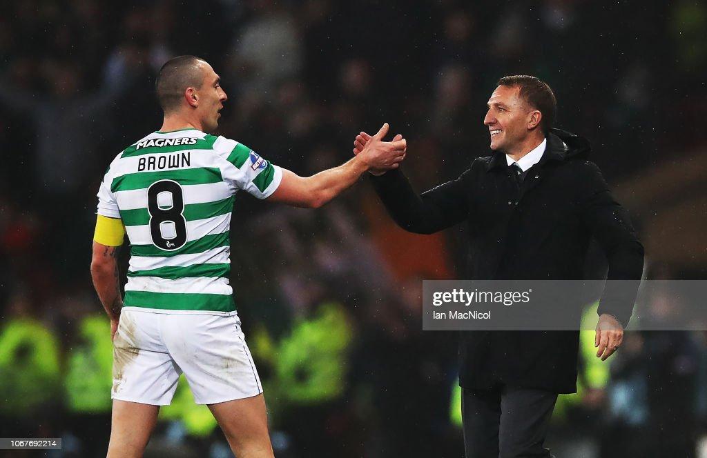Celtic v Aberdeen - Betfred Cup Final : News Photo