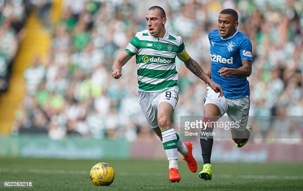 Scott Brown of Celtic during the Ladbrokes Scottish Premiership match between Celtic and Rangers at Celtic Park on September 10 2016 in Glasgow