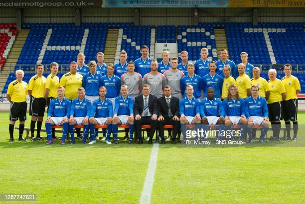 Scott Brown, Tam Scobbie, Gareth Rodger, Rory Fallon, Steven Anderson, Steven MacLean, Brian Easton, Gary Miller and Gwion Edwards.. Jocky Peebles,...
