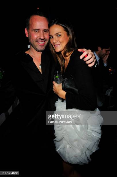 Scott Buccheit and Allie Rizzo attend ACRIA 15th Annual Holiday Benefit Dinner hosted by InStyle Magazine and Urban Zen at Urban Zen Center at the...