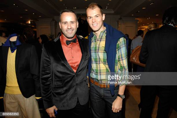 Scott Buccheit and Robert Fowler attend FACONNABLE VANITY FAIR Shopping Night for the Christopher Reeve Dana Reeve Foundation at Faconnable Store on...