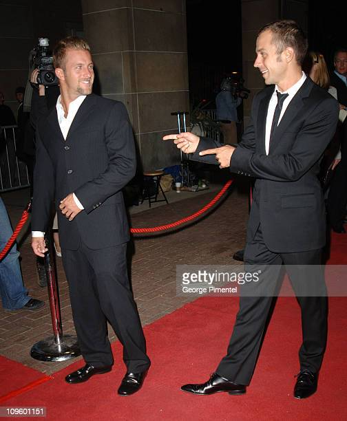 Scott Caan and Giovanni Ribisi during 31st Annual Toronto International Film Festival 'The Dog Problem' Premiere in Toronto Canada Canada