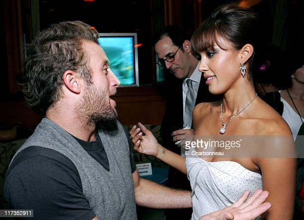 Scott Caan and Jessica Alba during MGM Pictures and Columbia Pictures 'Into the Blue' Premiere After Party at Napa Valley Grill in Westwood...