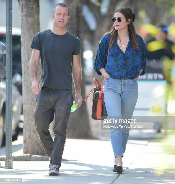 Scott Caan and Kacy Byxbee are seen on June 15 2019 in Los Angeles California