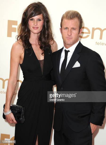 Scott Caan and Kacy Byxbee attend the 63rd Primetime Emmy Awards on September 18 2011 in Los Angeles United States