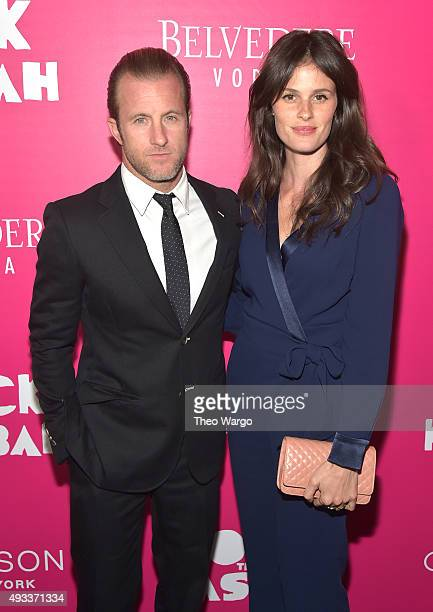 Scott Caan and Kacy Byxbee attend the Rock The Kasbah New York Premiere at AMC Loews Lincoln Square 13 theater on October 19 2015 in New York City