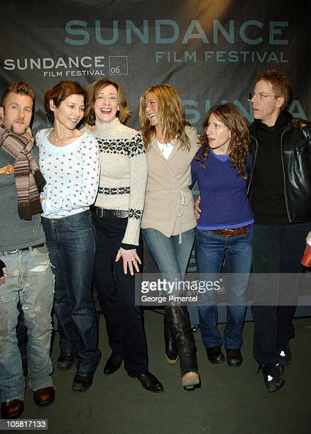 Scott Caan Catherine Keener Joan Cusack Jennifer Aniston Nicole Holofcener director and Greg Germann