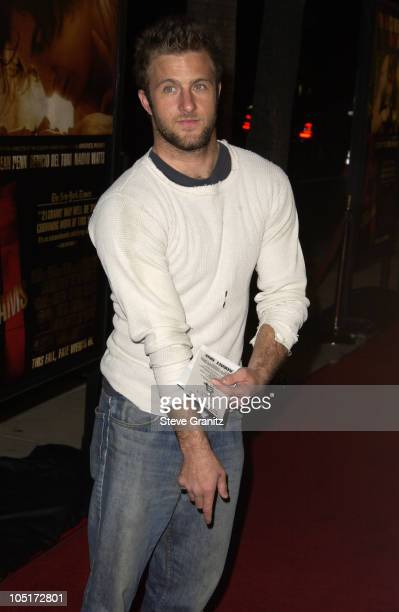 Scott Caan during '21 Grams' Los Angeles Premiere at Academy Theatre in Beverly Hills California United States