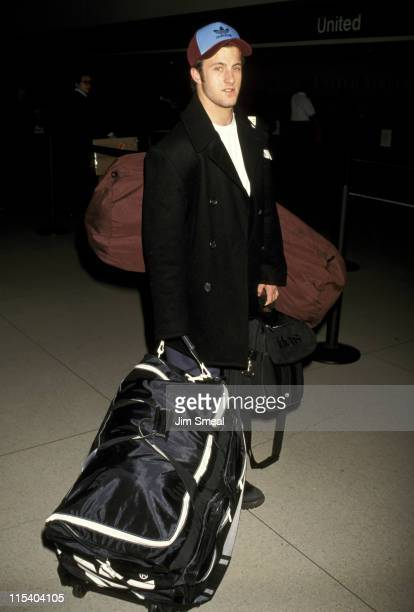 Scott Caan during Scott Caan Sighting at Los Angeles International Airport January 9 1999 at Los Angeles International Airport in Los Angeles...