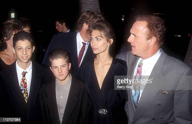 Scott Caan James Caan during For The Boys Los Angeles Premiere at The Academy in Beverly Hills California United States