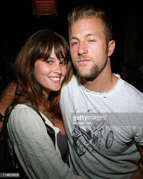 Scott Caan with friend Kasey during 'Crank' Los Angeles Premiere After Party at Tokio in Hollywood California United States