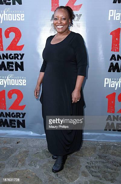L Scott Caldwell attends '12 Angry Men' at the Pasadena Playhouse on November 10 2013 in Pasadena California
