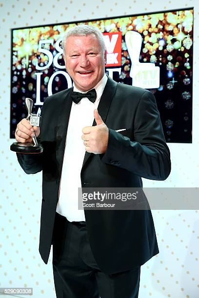 Scott Cam poses with the Logie Award for Best Reality Program 'The Block' during the 58th Annual Logie Awards at Crown Palladium on May 8 2016 in...