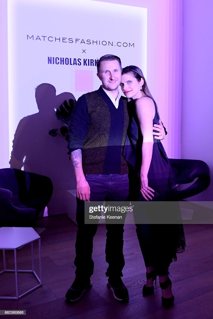Nicholas Kirkwood and China Chow Host A Dinner For Matches Fashion