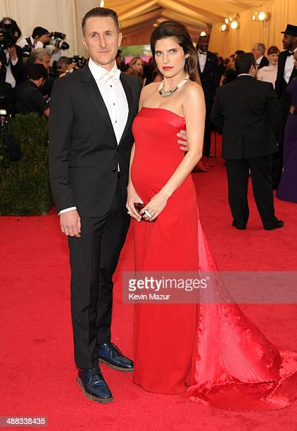 """Scott Campbell and Lake Bell attend the """"Charles James: Beyond Fashion"""" Costume Institute Gala at the Metropolitan Museum of Art on May 5, 2014 in..."""