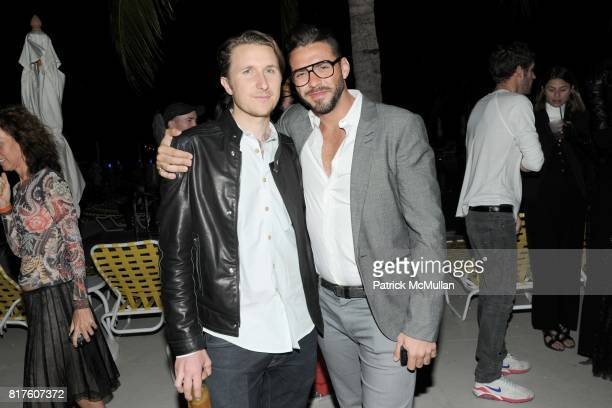 Scott Campbell and Lorenzo Martone attend Playboy presents the NUDE IS MUSE An Art Salon for Art Basel Miami 2010 at The Standard Hotel on December 4...