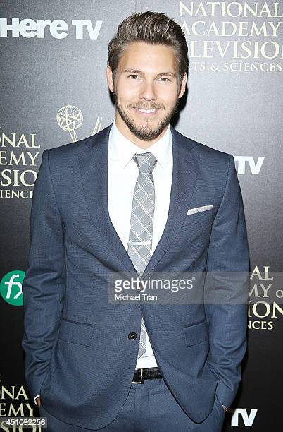 Scott Clifton arrives at the 41st Annual Daytime Emmy Awards held at The Beverly Hilton Hotel on June 22 2014 in Beverly Hills California