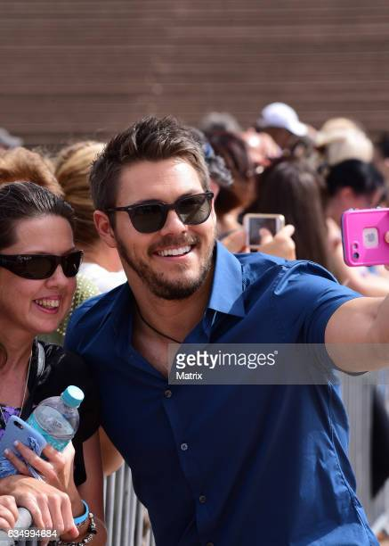 Scott Clifton films The Bold and the Beautiful on February 13 2017 in Sydney Australia