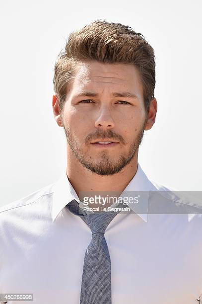 Scott Clifton pose during a photocall for the TV Show ' The Bold and the Beautiful' as part of the 54th MonteCarlo Television Festival on June 8 2014...