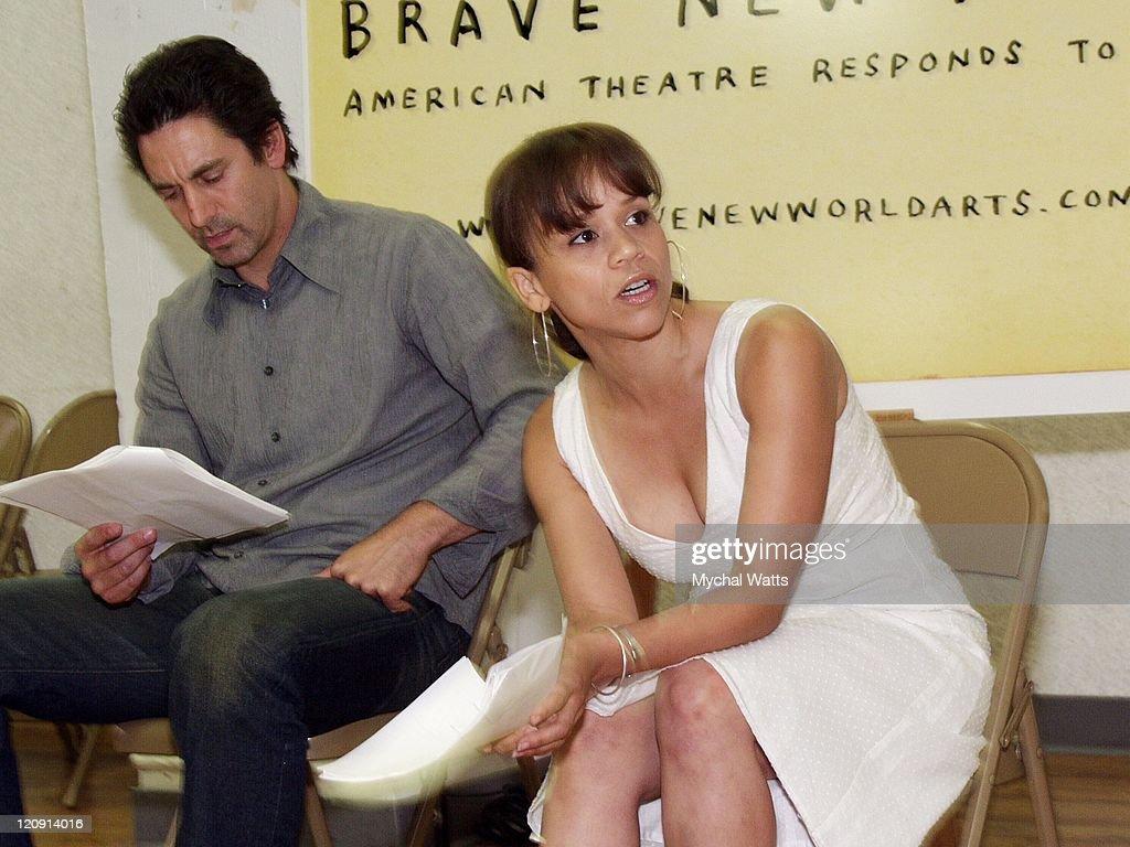 Scott Cohen and Rosie Perez