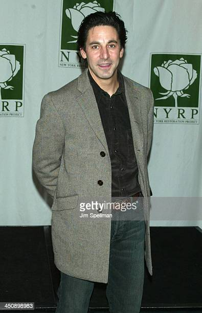 Scott Cohen during New York Restoration Project's Hulaween Gala 2002 at Marriott Marquis in New York New York United States