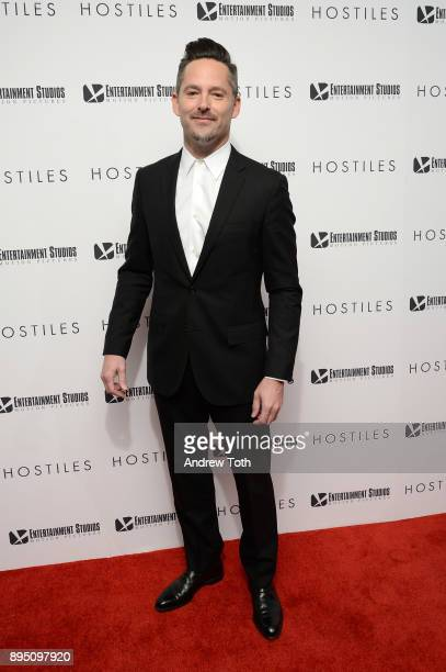 Scott Cooper attends the 'Hostiles' premiere at Metrograph on December 18 2017 in New York City