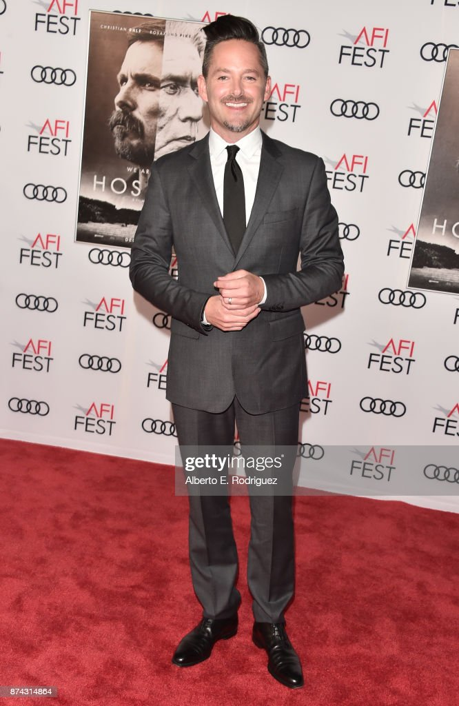 Scott Cooper attends the screening of 'Hostiles' at AFI FEST 2017 Presented By Audi at TCL Chinese Theatre on November 14, 2017 in Hollywood, California.