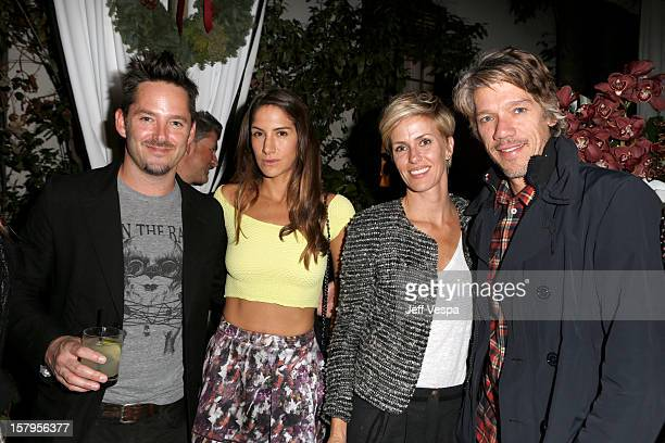 Scott Cooper Jocelyne Cooper Minnie Mortimer and Stephen Gaghan attend the SILVER LININGS PLAYBOOK Event Hosted By Lexus And Purity Vodka at Chateau...
