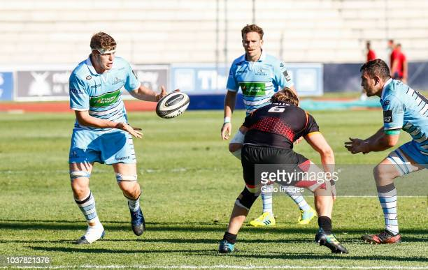 Scott Cummings of Glasgow Warriors during the Guinness Pro14 match between Isuzu Southern Kings and Glasgow Warriors at Nelson Mandela Bay University...