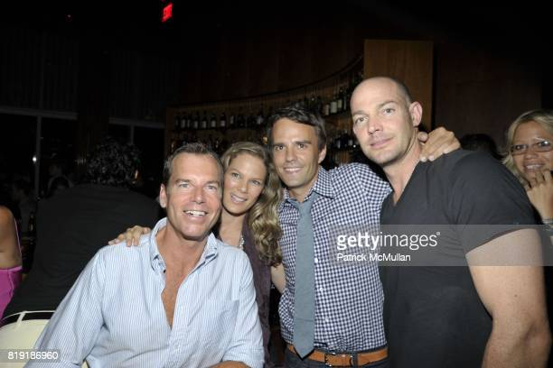 Scott Currie Serena Altschul Copper Cox Alex von Furstenberg attend DAVID LACHAPELLE'S AMERICAN JESUS After Party at the Top of the Standard on July...