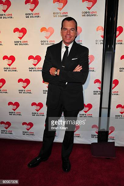 Scott Currie, VP of global communications for Kenneth Cole, attends the 2009 Golden Heart awards at the IAC Building on October 19, 2009 in New York...