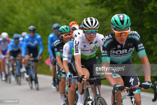 Scott Davies of United Kingdom and Team Dimension Data / during the 102nd Giro d'Italia 2019 Stage 18 a 222km stage from Valdaora to Santa Maria di...
