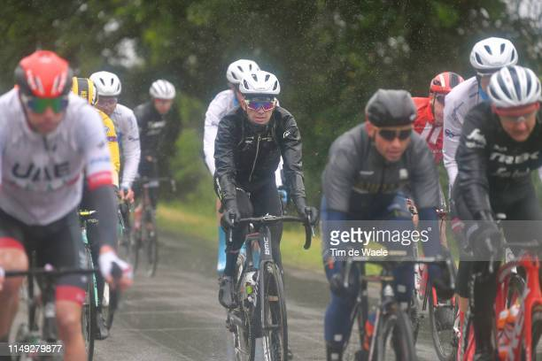 Scott Davies of United Kingdom and Team Dimension Data / Rain / during the 102nd Giro d'Italia 2019, Stage 5 a 140km stage from Frascati to Terracina...
