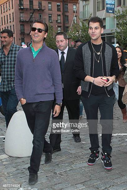 Scott Disick and Rob Kardashian are seen on April 25 2012 in New York City