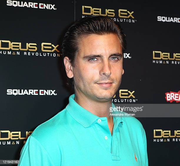 Scott Disick at Deus Ex Human Revolution Gaming Launch Party held at The Roxbury on August 23, 2011 in Hollywood, California.