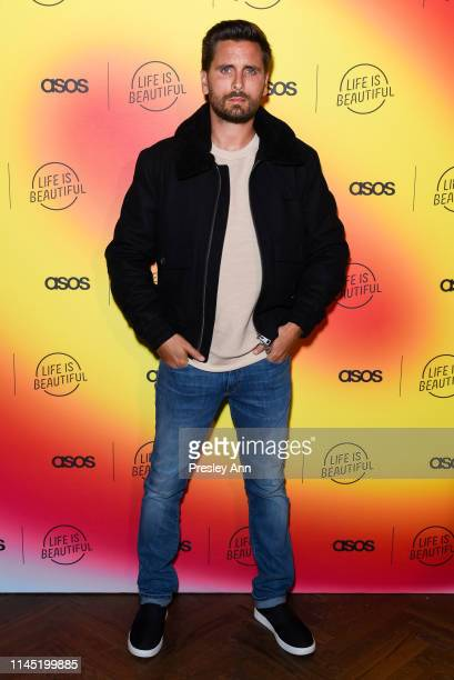 Scott Disick attends ASOS celebrates partnership with Life Is Beautiful at No Name on April 25 2019 in Los Angeles California